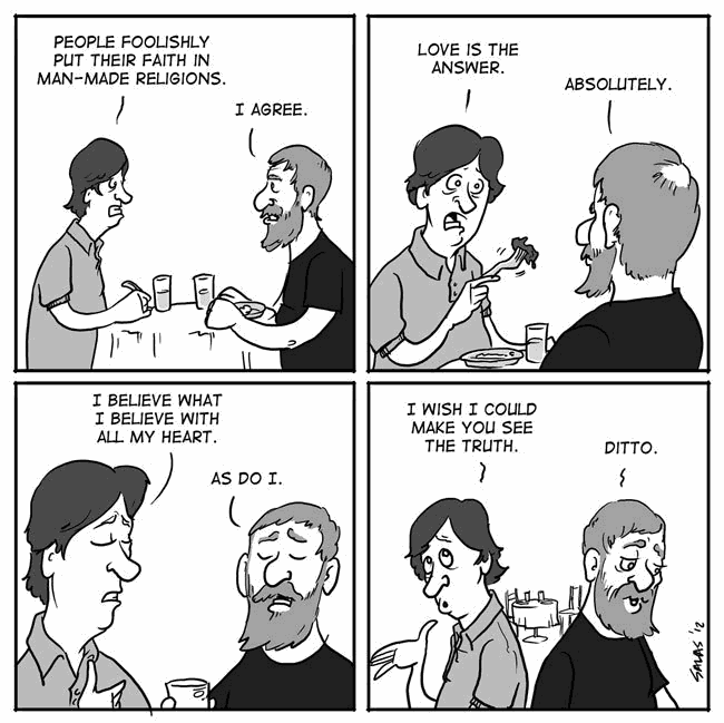 Image:Atheist and Messianic at lunch
